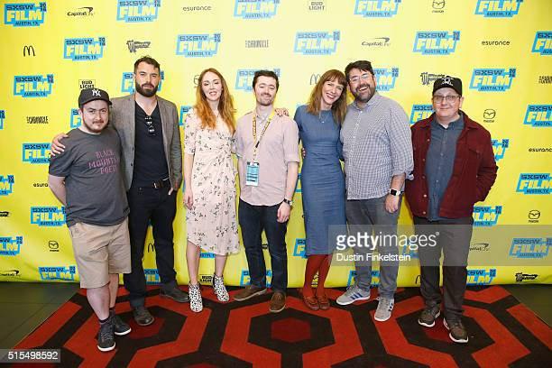 Director Jamie Adams actors Tom Cullen and Laura Patch SXSW Film Programmer Jim Kolmar actors Dolly Wells and Richard Elis and cinematographer Ryan...