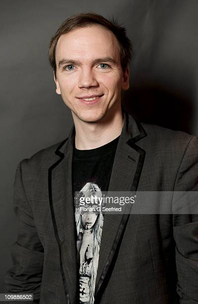 Director Jan Komasa poses during a portrait session for the movie 'Suicide Room' during day four of the 61st Berlin International Film Festival at...