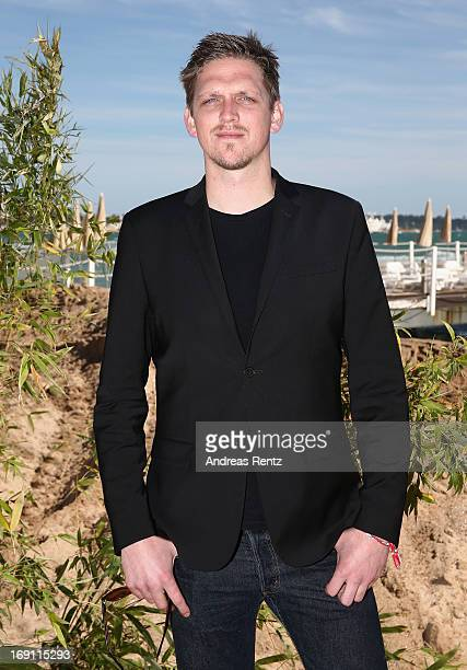 Director Jan Ole Gerster attends the Medienboard reception during the 66th Annual Cannes Film Festival at La Plage 45 on May 20 2013 in Cannes France
