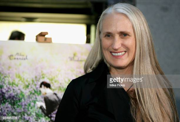 Director Jane Campion arrives for the Australian Premiere of 'Bright Star' at Dendy Opera Quays on November 30 2009 in Sydney Australia