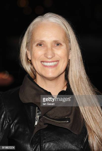 Director Jane Campion arrives for the premiere of 'Bright Star' during the Times BFI 53rd London Film Festival at the Odeon Leicester Square on...