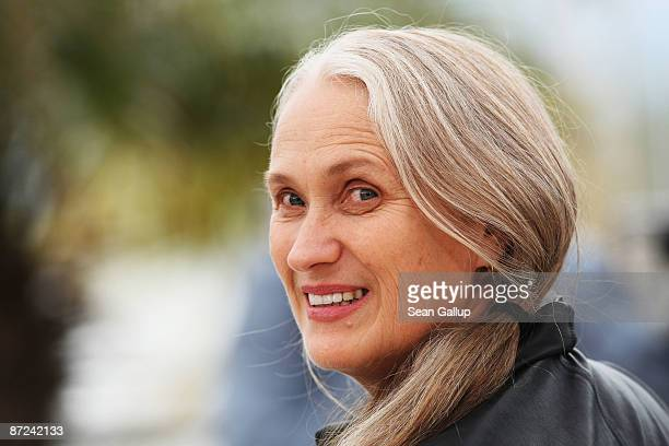 Director Jane Campion attends the Bright Star Photocall held at the Palais Des Festivals during the 62nd International Cannes Film Festival on May 15...