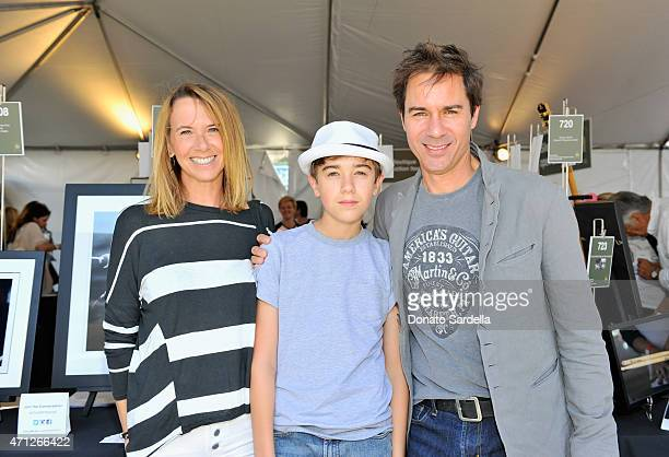 Director Janet Holden Finnigan McCormack and actor Eric McCormack attend Chrysler John Varvatos 12th Annual Stuart House Benefit at John Varvatos on...