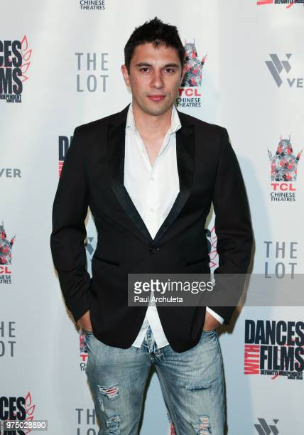 Director Jared Januschka attends the premiere of 'Shooting In Vain' at the Dances With Films Festival at The TCL Chinese 6 Theatres on June 14 2018...