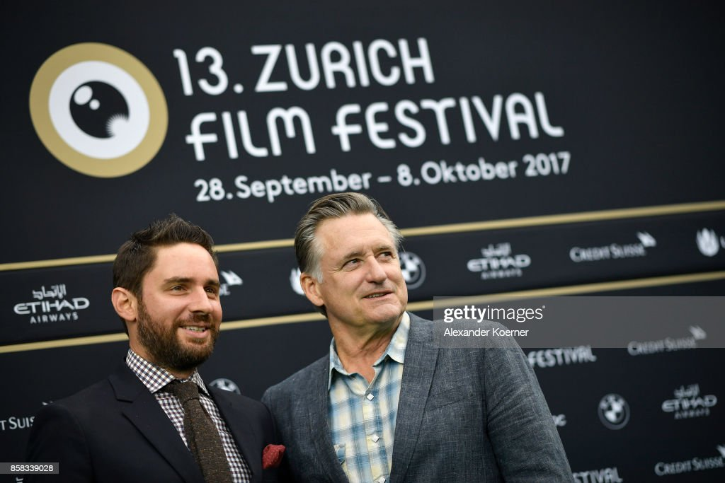 Director Jared Moshe and actor Bill Pullman attend the 'The Ballad of Lefty Brown' premiere at the 13th Zurich Film Festival on October 6, 2017 in Zurich, Switzerland. The Zurich Film Festival 2017 will take place from September 28 until October 8.