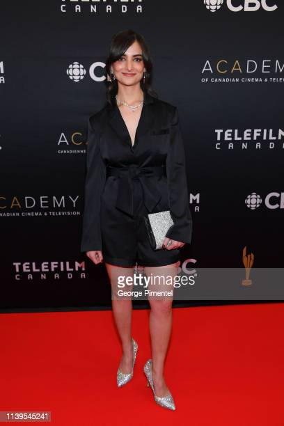 Director Jasmin Mozaffari attends the 2019 Canadian Screen Awards Broadcast Gala at Sony Centre for the Performing Arts on March 31 2019 in Toronto...
