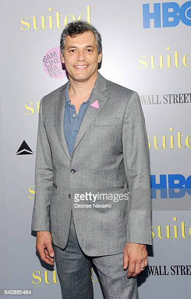 Director Jason Benjamin attends BAMcinemaFest 2016 - 'Suited' Screening at BAM Rose Cinemas on June 16, 2016 in New York City.