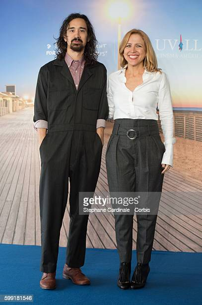 Director Jason Lew and Producer Laura Rister attend the The Free World Photocall during 42nd Deauville American Film Festival on September 4 2016 in...