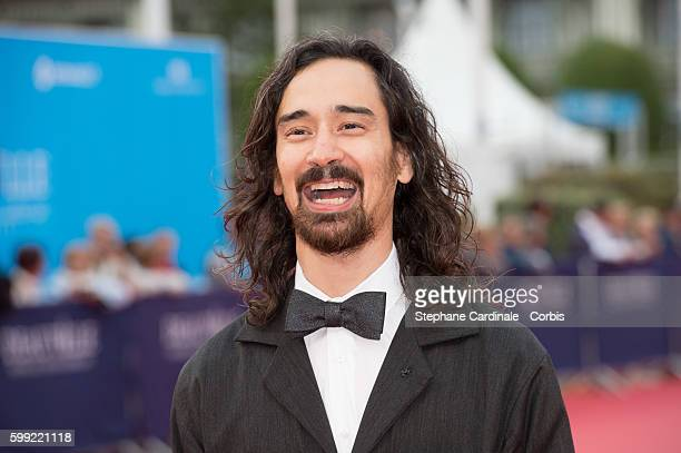 Director Jason Lew attends the Where To Invade Next Premiere during the 42nd Deauville American Film Festival on September 4 2016 in Deauville France