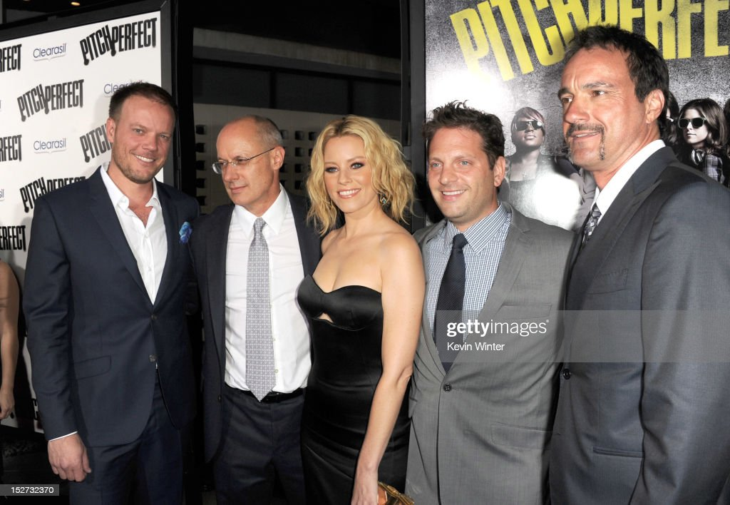 "Premiere Of Universal Pictures And Gold Circle Films' ""Pitch Perfect"" - Red Carpet : News Photo"