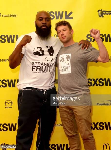 Director Jason Pollock and Michael Brown Sr attend 'Stranger Fruit What Really Happened in Ferguson to Mike Brown' during 2017 SXSW Conference and...