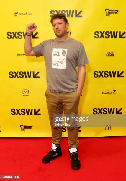 Director Jason Pollock attends 'Stranger Fruit What Really Happened in Ferguson to Mike Brown' during 2017 SXSW Conference and Festivals at Austin...