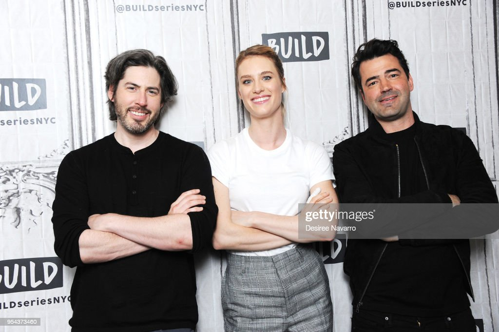 Director Jason Reitman, actors Mackenzie Davis and Ron Livingston visit Build Series to discuss 'Tully' at Build Studio on May 3, 2018 in New York City.
