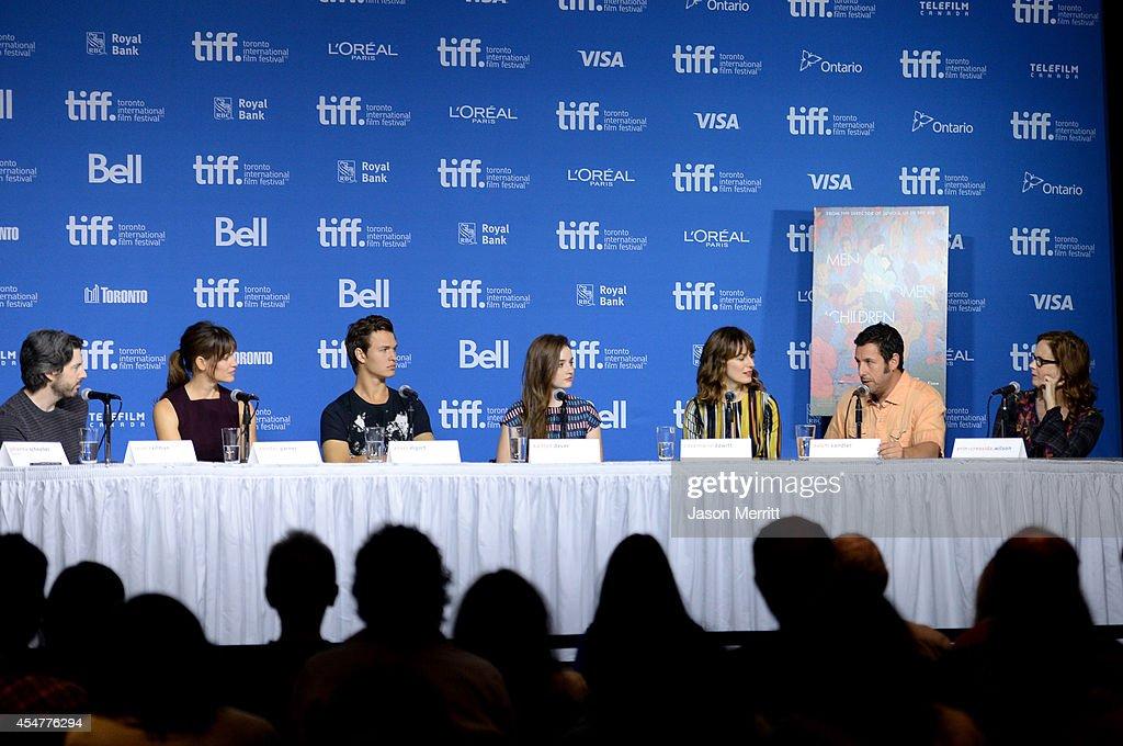 """Men, Women And Children"" Press Conference - 2014 Toronto International Film Festival : News Photo"