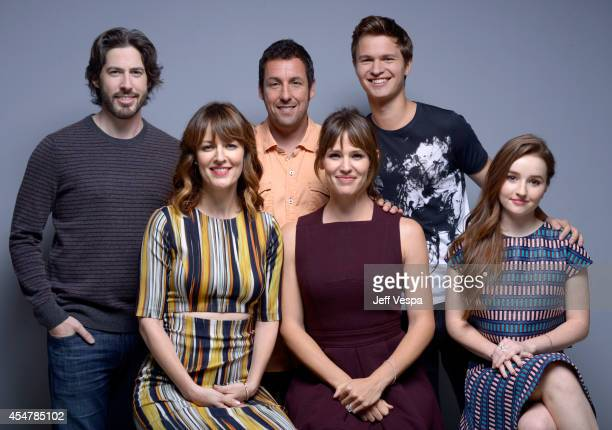 Director Jason Reitman actress Rosemarie DeWitt actor Adam SandlerActress Jennifer Garner actor Ansel Elgort and actress Kaitlyn Dever of Men Women...