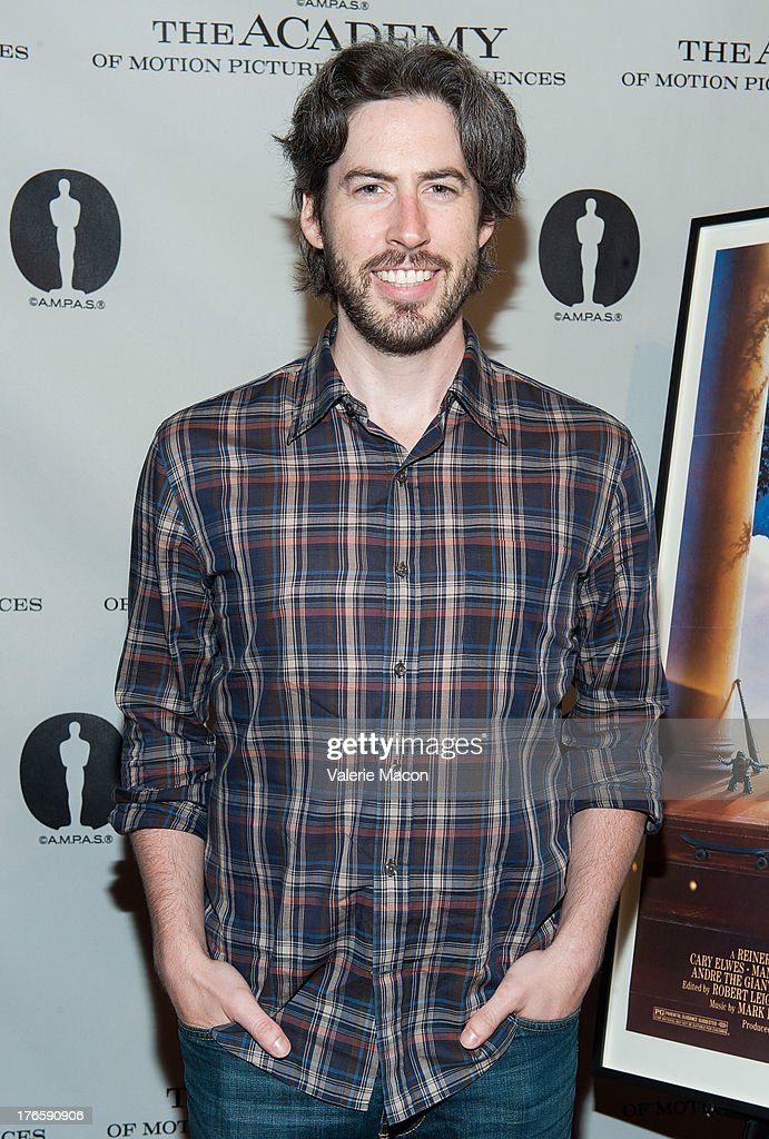Director Jason Reitman attends the Academy Of Motion Picture Arts And Sciences' Presents 'The Princess Bride' With Live Commentary Onstage at AMPAS Samuel Goldwyn Theater on August 15, 2013 in Beverly Hills, California.