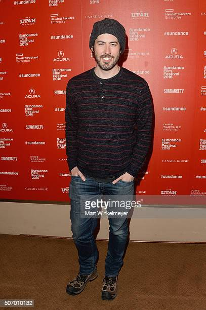 Director Jason Reitman attends the 'Dazed And Confused' Special Screening during the 2016 Sundance Film Festival at Egyptian Theatre on January 26...
