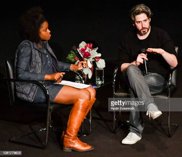 Director Jason Reitman speaks at the MoMA Contenders 2018 Screening and QA of The Front Runner at Hammer Museum on December 11 2018 in Los Angeles...