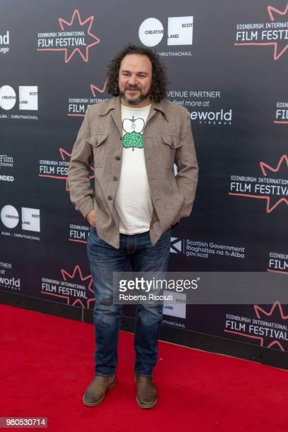 Director Jason Wingard attends a photocall for the World Premiere of 'Eaten by Lions' during the 72nd Edinburgh International Film Festival at...