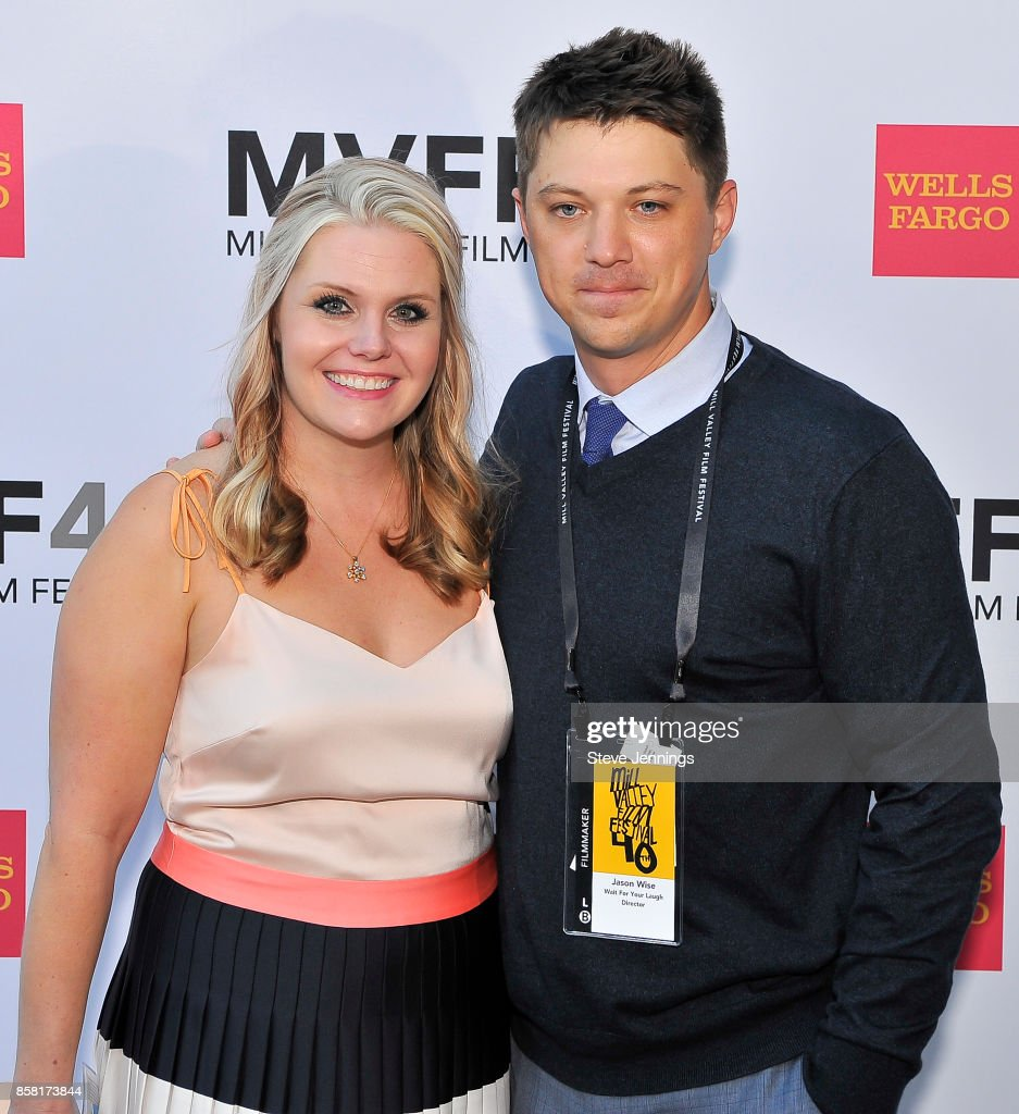 Director Jason Wise and Producer Christina Wise from the film 'Wait For Your Laugh' attend the 40th Annual Mill Valley Film Festival at The Outdoor Art Club on October 5, 2017 in Mill Valley, California.