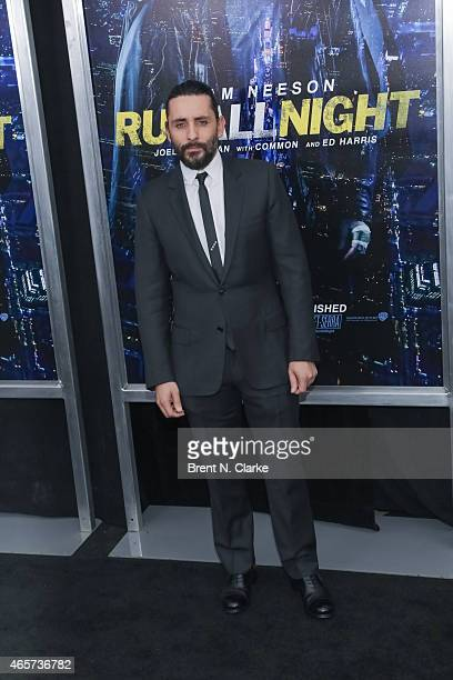 Director Jaume ColletSerra arrives for the Run All Night New York Premiere at AMC Lincoln Square Theater on March 9 2015 in New York City