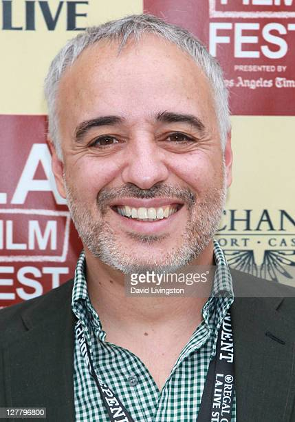 Director Javier Fuentes-Leon attends the Money Talks & Art Matters panel discussion sponsored by LMU School of Film and Television during the 2011...
