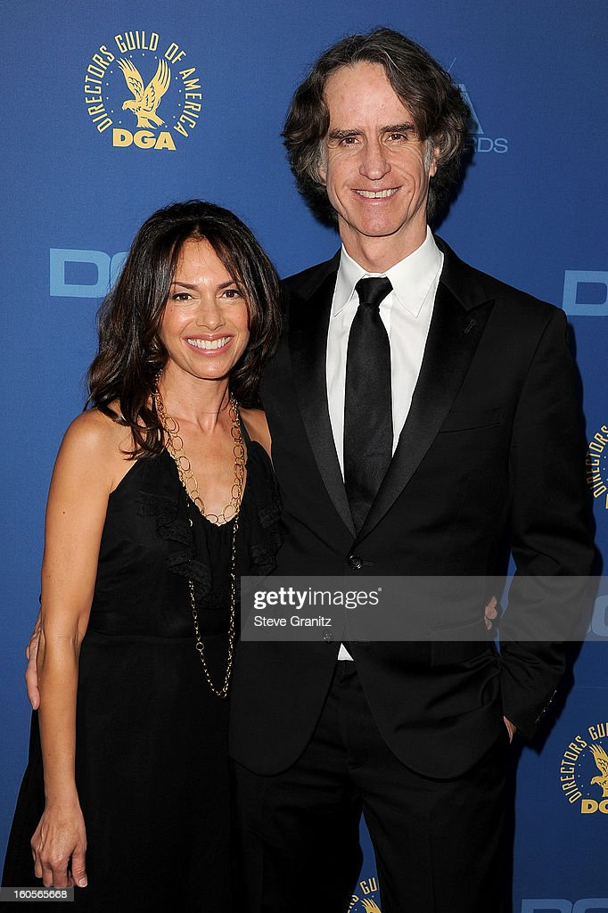 Director Jay Roach (R) and Susanna Hoffs attend the 65th Annual Directors Guild Of America Awards at The Ray Dolby Ballroom at Hollywood & Highland Center on February 2, 2013 in Hollywood, California.