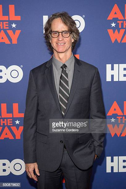 Director Jay Roach arrives at Lyndon Baines Johnson Library and Museum on May 11 2016 in Austin Texas