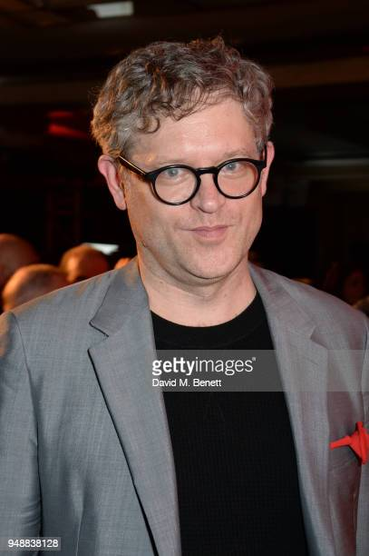 Director Jay Scheib attends the Gala Night after party for 'Bat Out Of Hell The Musical' at the Bloomsbury Ballroom on April 19 2018 in London England