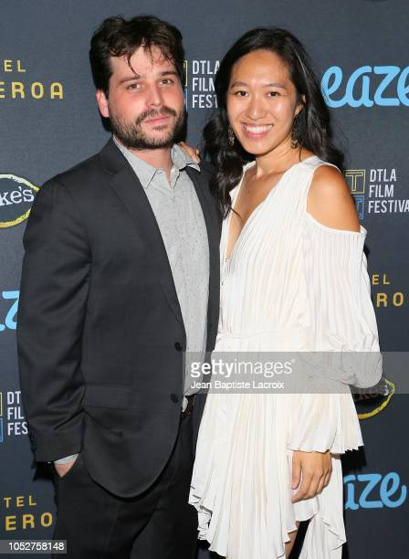 Director Jean Lee attends the 2018 Downtown Los Angeles Film Festival - 'All Creatures Here Below' 'Original Sin' And Perception' Press line held at...