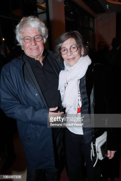 Director JeanJacques Annaud and his wife Laurence DuvalAnnaud attend the Reopening of The Marigny Theater with the with the Musical Fairy Peau d'Ane...