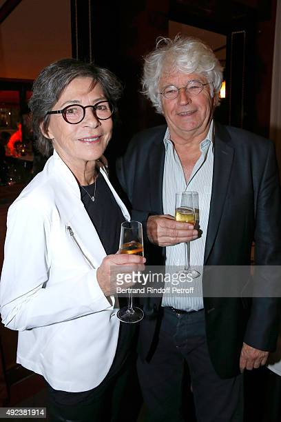 Director JeanJacques Annaud and his wife Laurence DuvalAnnaud attend the Fouquet's Paris Restaurant presents its Menu 'Twisted' by the Chef Pierre...
