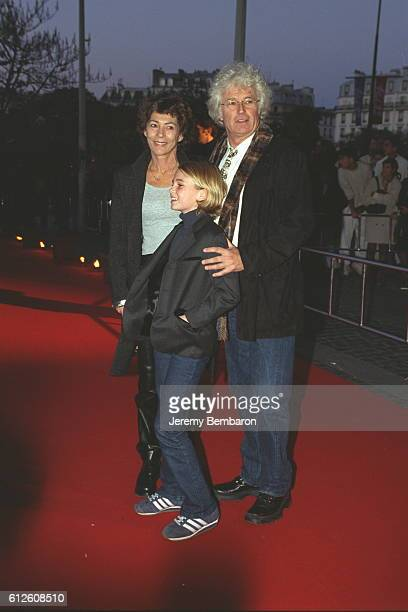 Director JeanJacques Annaud with his family