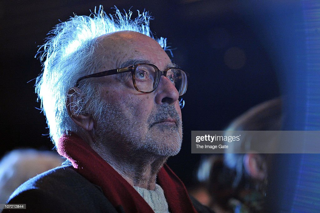 Director Jean-Luc Godard looks on before receiving the Swiss Federal Design Award Grand Prix held at X-Tra on November 30, 2010 in Zurich, Switzerland. Jean-Luc Godard, who will be celebrating his 80th birthday on Friday, claimed he will spend the money of the prize to pay his Swiss tax he never had to pay the 35 previous years he lived in Switzerland.