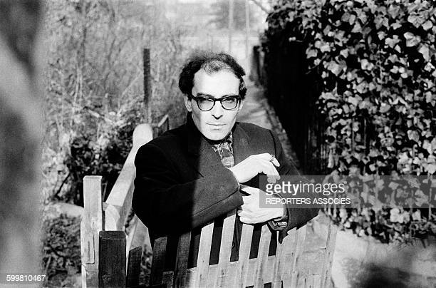 Director JeanLuc Godard On Set of His Movie 'Bande A Part' in France on March 10 1964