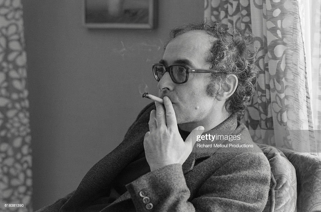 Jean-Luc Godard Smoking : Photo d'actualité