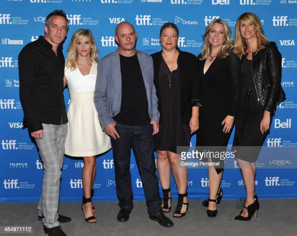 Director JeanMarc Vallee actress Reese Witherspoon screenwriter Nick Hornby producer Bruna Papandera source author Cheryl Strayed and actress Laura...