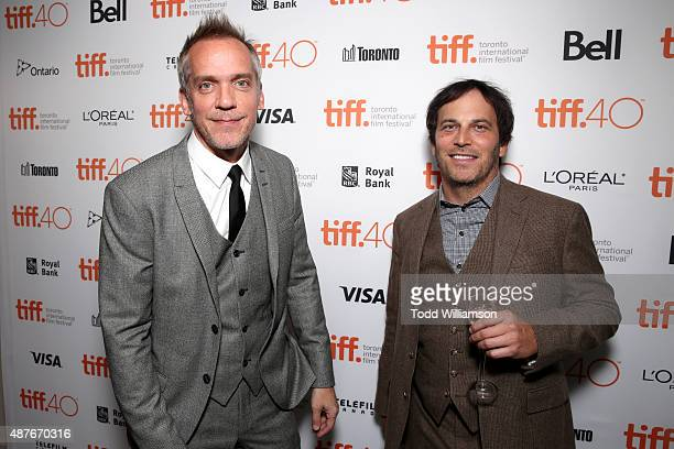 Director JeanMarc Vallee and Executive Producer Nathan Ross attend the 'Demolition' Fox Searchlight VVS and Sierra Affinity party during the 2015...