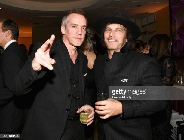 Director JeanMarc Vallee and Nathan Ross attend HBO's Official Golden Globe Awards After Party at Circa 55 Restaurant on January 7 2018 in Los...