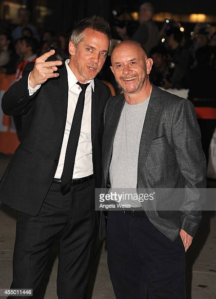 Director JeanMarc Vallee and Nick Hornby attend the 'Wild' premiere during the 2014 Toronto International Film Festival at Roy Thomson Hall on...