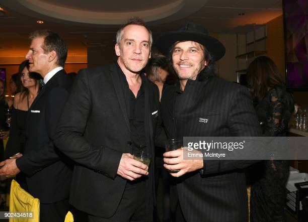 Director JeanMarc Vallee and producer Nathan Ross attend HBO's Official Golden Globe Awards After Party at Circa 55 Restaurant on January 7 2018 in...
