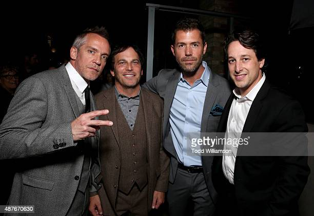 Director JeanMarc Vallee Executive Producer Nathan Ross Screenwriter Bryan Sipe and Fox Searchlight EVP of Production David Greenbaum attend the...