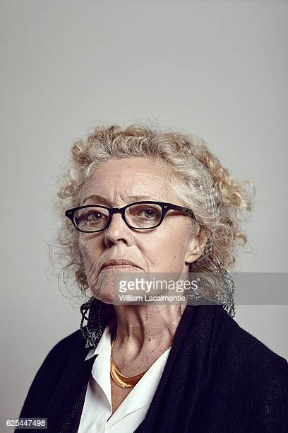 Director Jeanne Labrune is photographed for Le Film Français on September29 2016