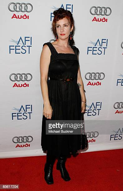 Director Jeanne Liotta of Observando El Cielo arrive at the 2008 AFI FEST held at Arclight Hollywood on November 8 2008 in Hollywood California