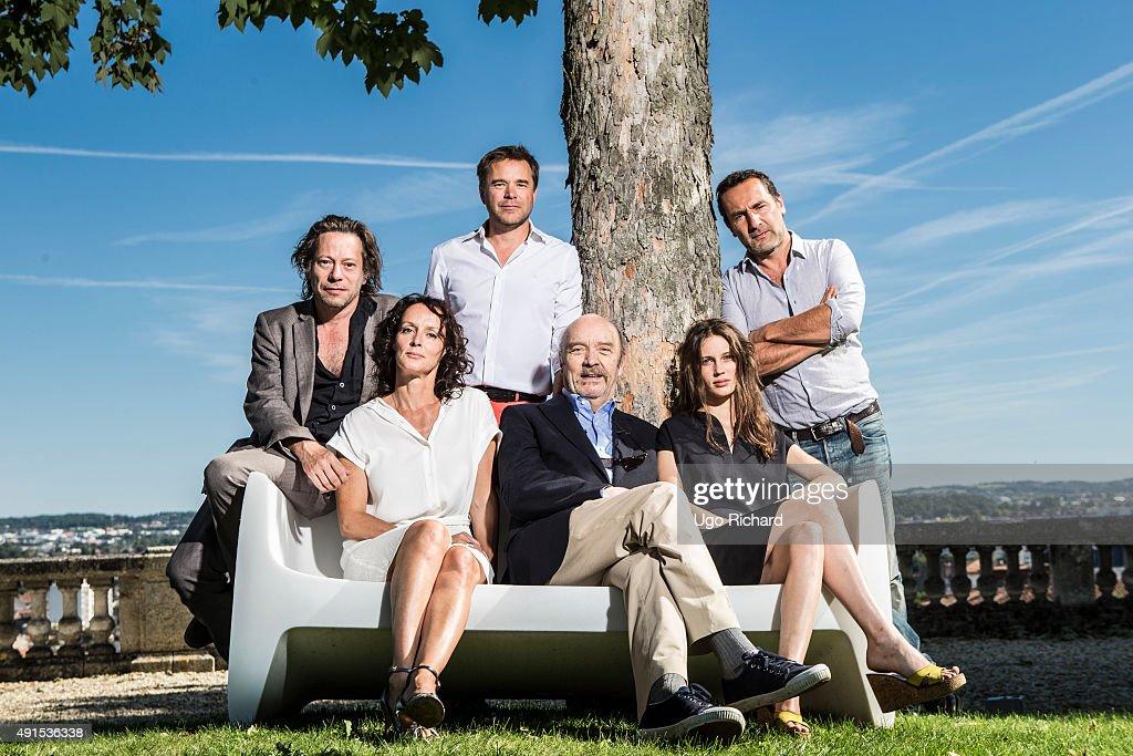 015 Angouleme Film Festival - Portrait session, Self Assignment, August 2015