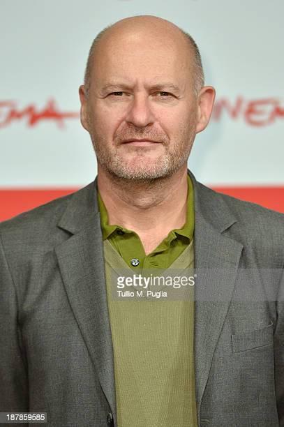 Director JeanPaul Salome attends the 'Je Fais Le Mort' Photocall during the 8th Rome Film Festival at the Auditorium Parco Della Musica on November...