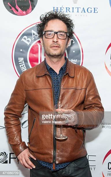 Director JeanPhilippe Amar arrives at COLCOA French Film Festival Barnes After Party at Heritage Fine Wines on April 24 2015 in Beverly Hills...