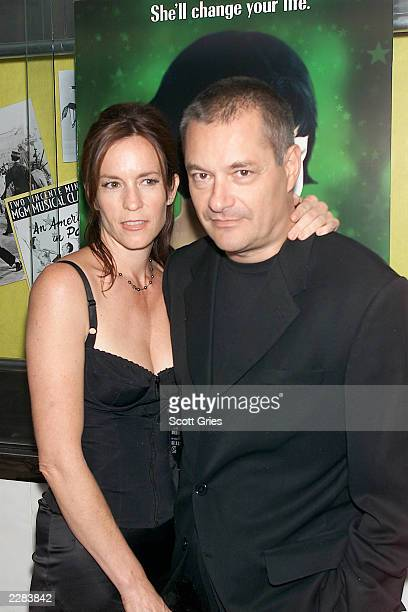Director JeanPierre Jeunet and his girlfriend Lisa Sullivan arrive at a screening of 'Amelie' at The Paris Theater in New York City 10/15/01 Photo by...