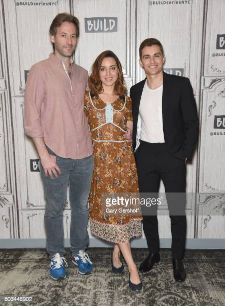 Director Jeff Baena and actors Aubrey Plaza and Dave Franco visit the Build Series to discuss the new film 'The Little Hours' at Build Studio on June...