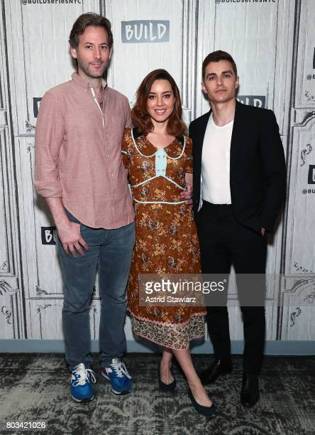 Director Jeff Baena and actors Dave Franco and Aubrey Plaza discuss 'The Little Hours' at Build Studio on June 29 2017 in New York City